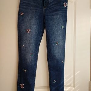 Chico's jeweled jeans